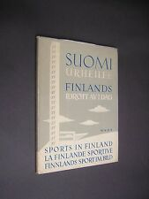 SPORTS IN FINLAND. 1947. 1st EDITION. HARDBACK IN DUST JACKET. ILLUSTRATED.