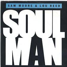 """Sam Moore & Lou Reed - Soul Man 7"""" Single 1986"""
