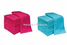 NEW PACK OF 12 100% COTTON FACE CLOTH TOWELS FLANNELS WASH CLOTH 400 GSM