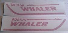 """NEW BOSTON WHALER DECALS 3""""x14"""""""