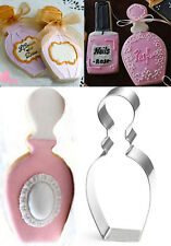 New Perfume Bottle Cake Fondant Mold Cookie Biscuit Cutter Baking Tool