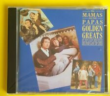 The Mamas & The Papas Golden Greats CD NEW SEALED California Dreamin'+