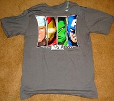 CHILDRENS PLACE T-SHIRT T XL GRAY AVENGERS IRON MAN CAP AMERICA HULK THOR MARVEL