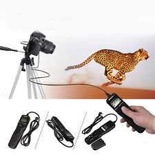 Hot RS-60E3Time intervalometer Timer Remote Shutter Release Cord for Canon