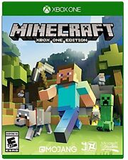 Minecraft: Xbox One Edition (Xbox One, NTSC, Video Game) Brand New Sealed