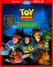 Toy Story of Terror! Blu-ray w/Digital Copy 2014 Disney Woody Buzz Jessie 3 Toon