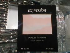EXPRESSION JACQUES FATH 50 ML EDT RARE VINTAGE PERFUME