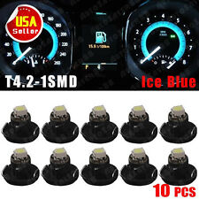 10 x  Ice Blue T4/T4.2 Neo Wedge LED Cluster Instrument Dash Climate Base lights