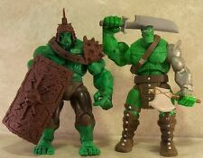 MARVEL LEGENDS PLANET HULK FIN FANG FOOM BAF KING GREY SAVAGE END SKAAR GRAY
