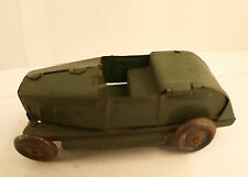 Penny toy voiture décapotable en tôle France ancien 9 cm RARE tin toy