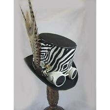Day Of The Dead Hats -Steampunk Top Hats-Steampunk Store-Goggles-Skull Head
