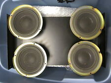 """LOT OF 4 Vintage WORKING BOSE DRIVERS 6"""""""