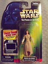 STAR WARS THE POWER OF THE FORCE: PRINCESS LEIA ORGANA ACTION FIGURE 1997