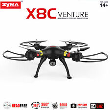 SYMA X8c 6-Axis Quadcopter Drone 2.0MP HD Camera 2.4G  RC Drone Helicopter Black