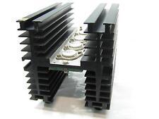 Dissipatore in alluminio per elettronica  120x120x150mm comprensivo di 4 2N3055