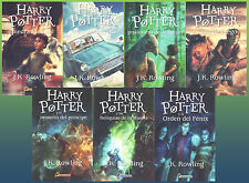 Coleccion Libro Completo de Harry Potter en espanol SPANISH Harry Potter Set 1-7
