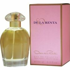 So de la Renta by Oscar de la Renta 3.4 oz EDT Perfume for Women New In Box