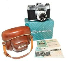 Voigtlander Bessamatic Camera w/50mm F2.8 Color-Skopar X Lens, Case, Box, MINTY