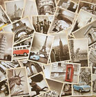 32 pcs Vintage Retro Posters Old Travel Postcards Wall Decoration Cards Set - E