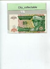 WORLD BANK NOTE - 1993 ZAIRE 10NK PREFIX A * A2901675A UNC # B234