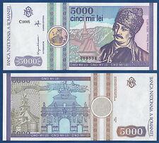 RUMÄNIEN / ROMANIA 5000 Lei 1992  UNC  P. 103