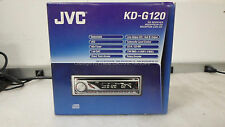 JVC-KD-G120 In Dash Unit, NO FACE PLATE