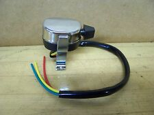 Bobber Chopper Scooter Motorcycle Headlight Light Turn Signal Switch