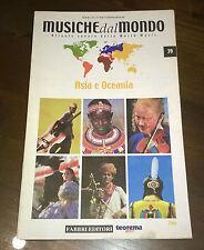 """Libri/Riviste/Giornali""""MUSICHE DAL MONDO ASIA E OCEANIA CINA N°39""""Fabbri"""