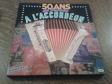 coffret 8 33 tours 50 ans de succes a l'accordeon