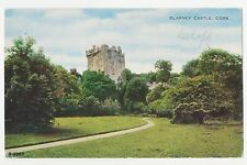 Cork,Ireland,Blarney Castle,County Cork,Used,2 Eire Stamps,Corcaigh,1956