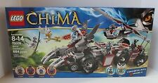 NEW  CHIMA LEGO SET 70009 WORRIZ' COMBAT LAIR IN FACTORY SEALED BOX RETIRED!