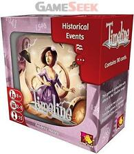 TIMELINE HISTORICAL EVENTS - GAMES/PUZZLES CARD GAMES BRAND NEW FREE DELIVERY