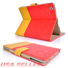 iPad 2/3/4 Luxury Suede PU Leather Flip Smart Protect Case Cover Auto Sleep Wake