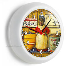 AUNT JEMIMA RETRO KITCHEN PANTRY WALL CLOCK KITCHEN DINING BEDROOM TV ROOM DECOR