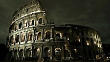 POSTER COLOSSEO AS ROMA ROME COLISEUM CITTA' CITY ITALIA ITALY PANORAMA FOTO #3