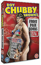 Roy Chubby Brown's Front Page Boobs (DVD, 2012) Brand new and sealed