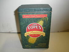 100's Anniversary Original JOHN COPE'S TOASTED DRIED SWEET CORN Tin