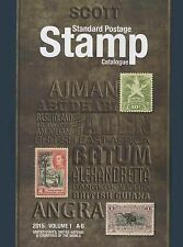 2015 Scott Standard Postage Stamp Catalog Vol. 1 US+Territories+UN+Countries A-B