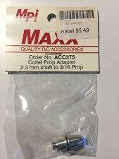 MPI Maxx Collet Prop Adapter For 2.3mm To 3/16 Prop # ACC375
