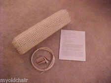 "Chair cane caning  seat webbing weaving repair replacement kit  Breuer 18"" x 18"""