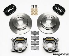 Wilwood 1979-1993 Mustang Dynalite Bolt on Rear Brake Kit With Parking Brake -