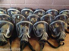 MSA Ultra Elite SCBA Mask Kevlar Headnet Facepiece Sz Medium Used GreatCondition