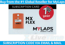 MyLaps Flex Subscription Renewal Card (1-year) for MX