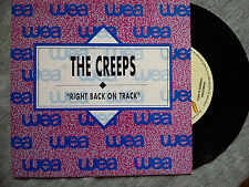 "THE CREEPS – ""RIGHT BACK ON TRACK"" SPANISH ONY PROMO VINYL SINGLE"