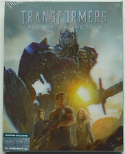 TRANSFORMERS 4 BLUFANS EDITION B 3-DISC BLU-RAY STEELBOOK NEU & OVP LENTICULAR