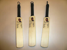 Sachin Tendulkar Test Match Statistics Hand Carved Mini-Cricket Bat-Only £5.95 !