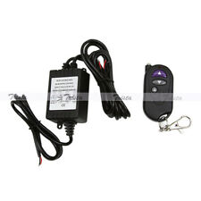 1 Set 48W Dual-Output Wireless Remote Control Strobe Solid Light Car LED Use #JP