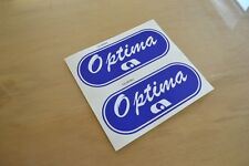 ADRIA Optima Caravan Plate Sticker Decal Graphic - PAIR