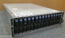 EMC X2E Storage Array 005048494 + 15x 73GB HDD 2x Controllers 2x PSU FC