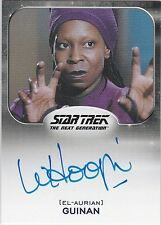 STAR TREK ALIENS 2014 WHOOPI GOLDBERG AS GUINAN AUTOGRAPH EXTREMELY LIMITED